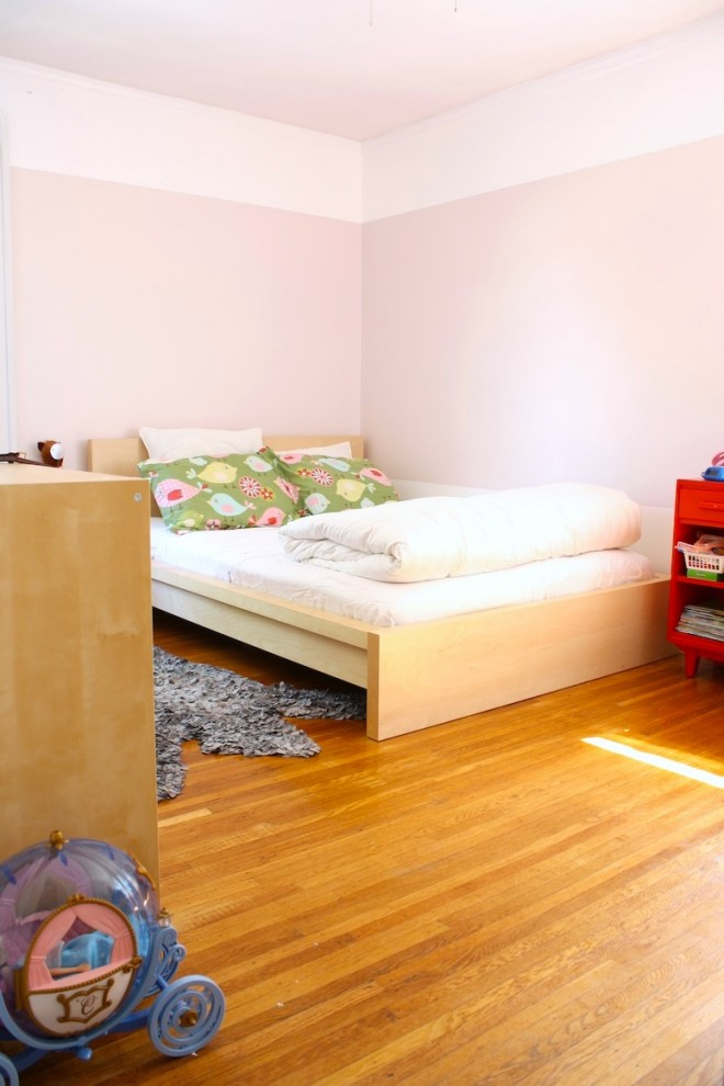 Bedroom transformation for a little girl.