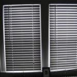 Bedroom blinds. Love waking up to the faint, crisp light peeking through the cracks.
