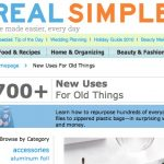 Great section of the Real Simple website. Lots of projects I want to try here.