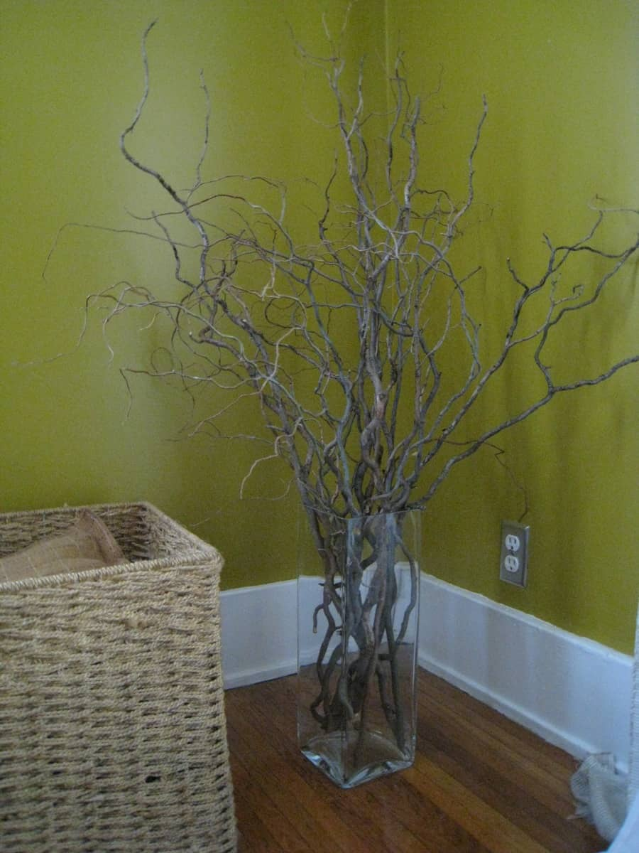 Curly Willow Branch Home Decor Merrypad