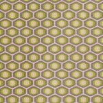 Amy Butler Honeycomb Fabric in Grey, Midwest Modern Collection. Found at the etsy.com shop TheFabricFarm.