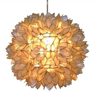Capiz Shell Floral Pendant Light at Target. Image source Target.com.