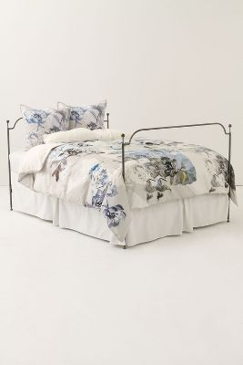 Fragmented Flowers Duvet Cover. Image via Anthropologie.com.