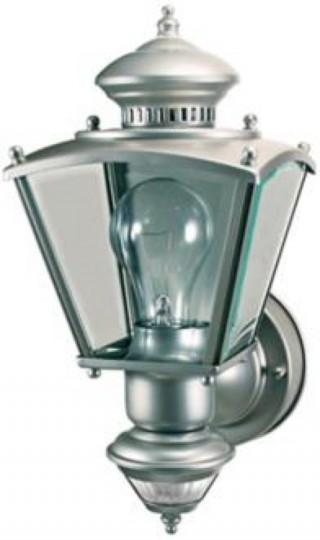Light #5. Charleston Coach Silver ENERGY STAR® Outdoor Light from LampsPlus.com