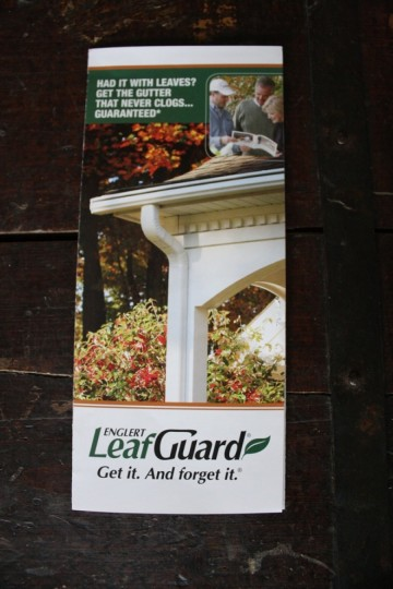 Englert LeafGuard collateral.