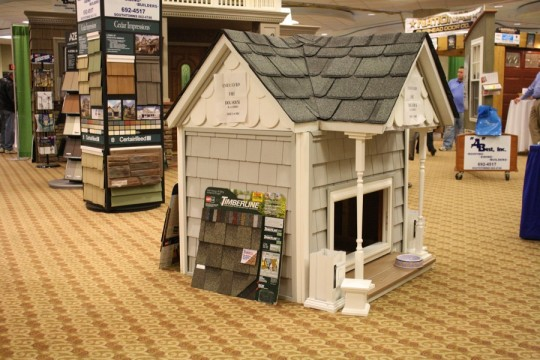 Dog house. That matches my house.