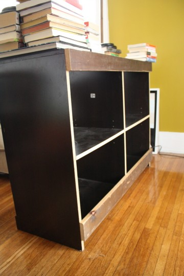 Attached the additional support to the bottom of the unit as well.