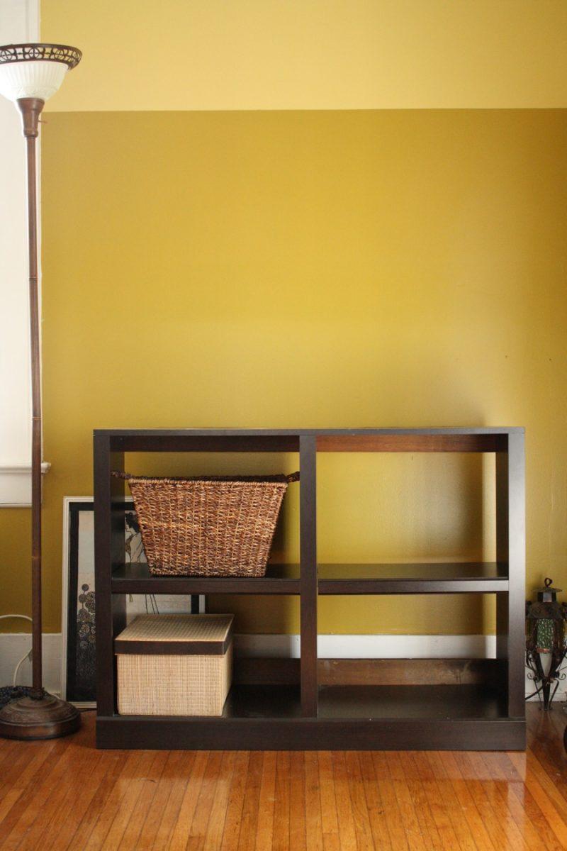 DIY Shelf Rehab (and Decor Surrounding) A Shelving Unit   merrypad