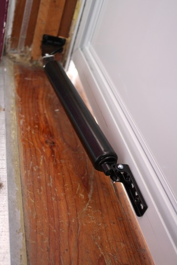 Did you know you could adjust the speed of your storm door by tightening or loosening the hydraulic?