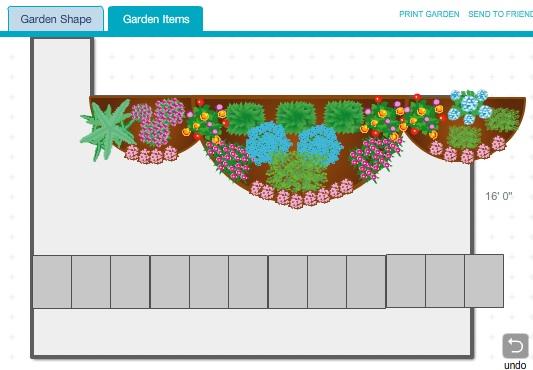 An updated garden thanks to the Better Homes & Gardens Plan-A-Garden program.