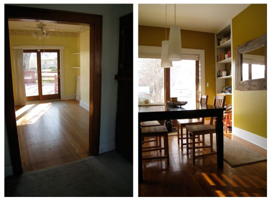 Dining Room: Before + After