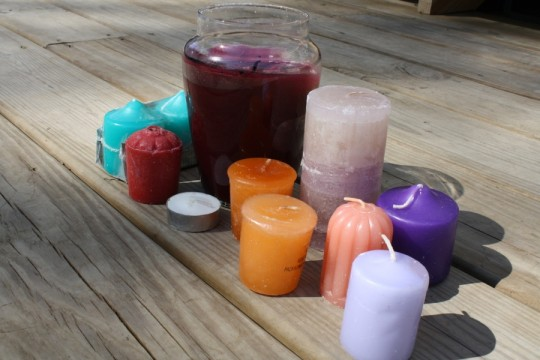 Lots of candles, only $1.