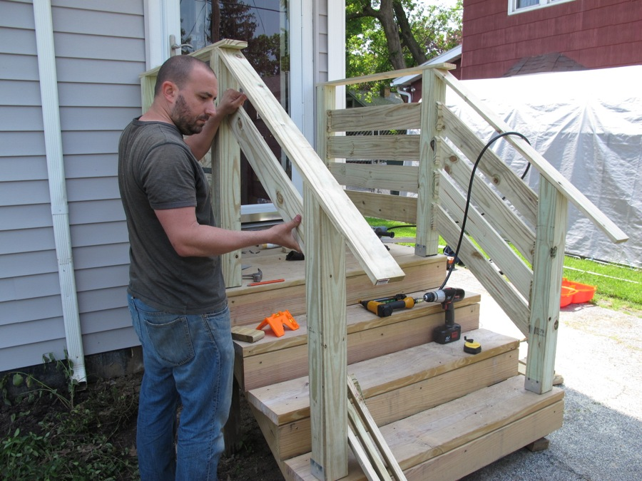 DIY Front Porch Railings | merrypad