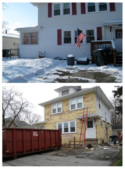 Curb Appeal: Before + During