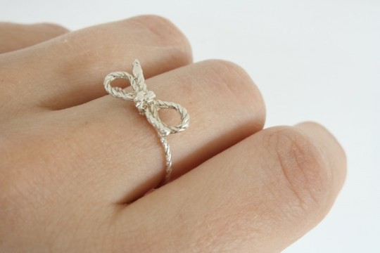 My personal Forget Me Knot ring.