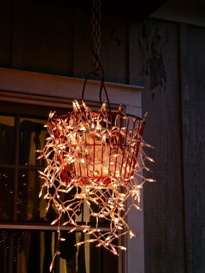 DIY Chandelier via candiecooper.typepad.com