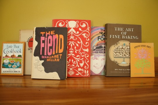 Some of the books up on the chopping block. For good reason, of course - they're beautiful!