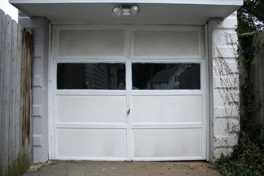painting garage doorPainting A Garage Doors and Trim  merrypad
