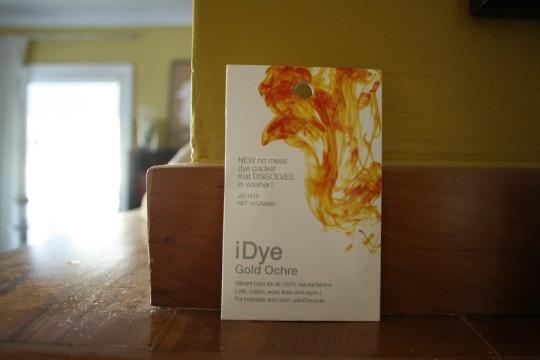Gold Ochre dye by iDye