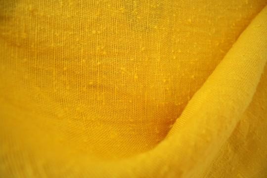 Subdued yellow, post-dye job.