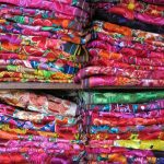 Colorful mexican textiles.
