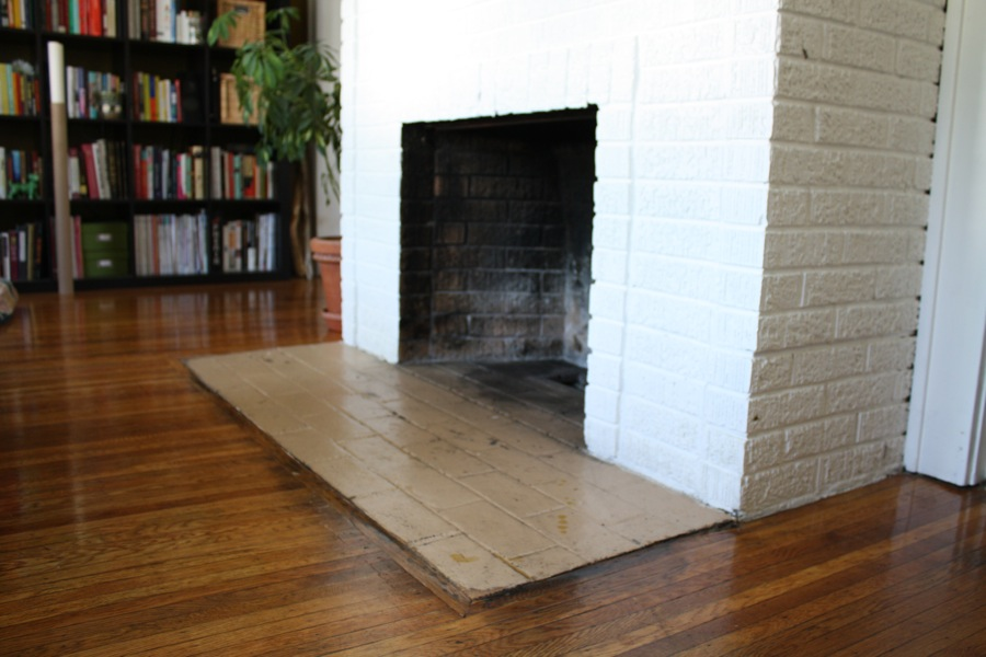 Painting A Fireplace Hearth | merrypad