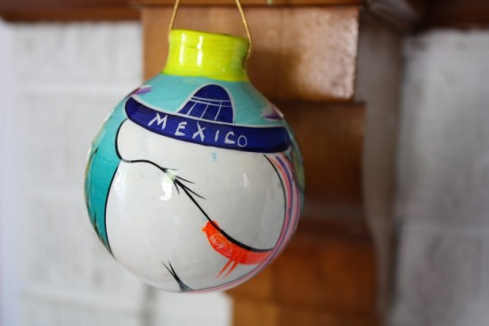 Mexico ornament, 2011.