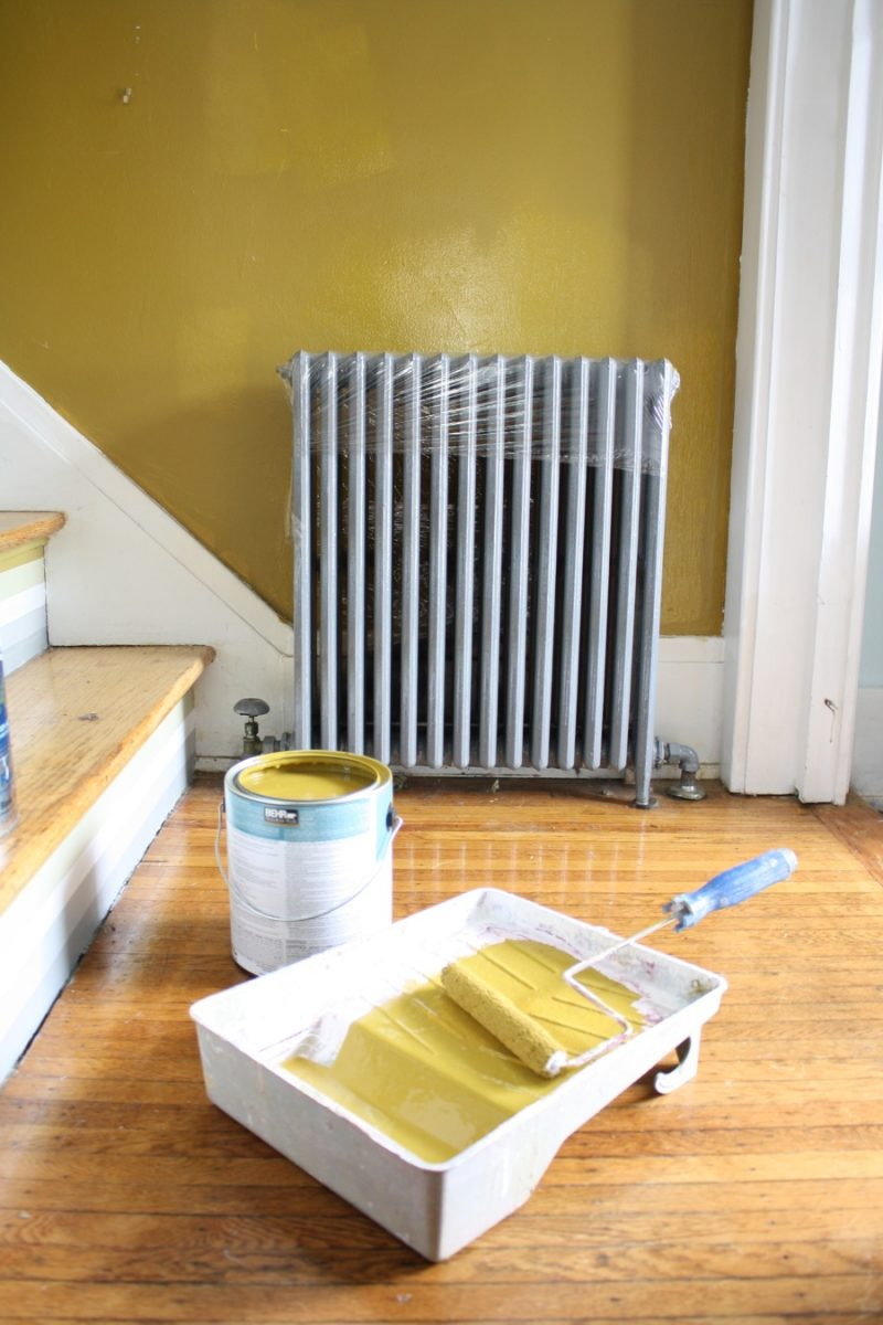 Radiator Not Getting Hot >> How To Paint Behind A Radiator | merrypad
