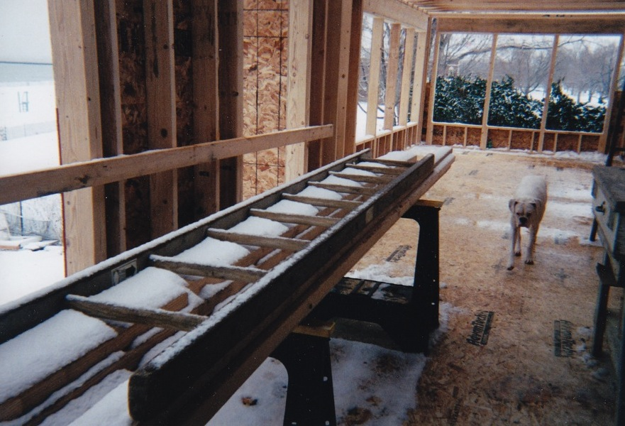 During: Addition to the beach-facing side of the house opens up the first floor living space.