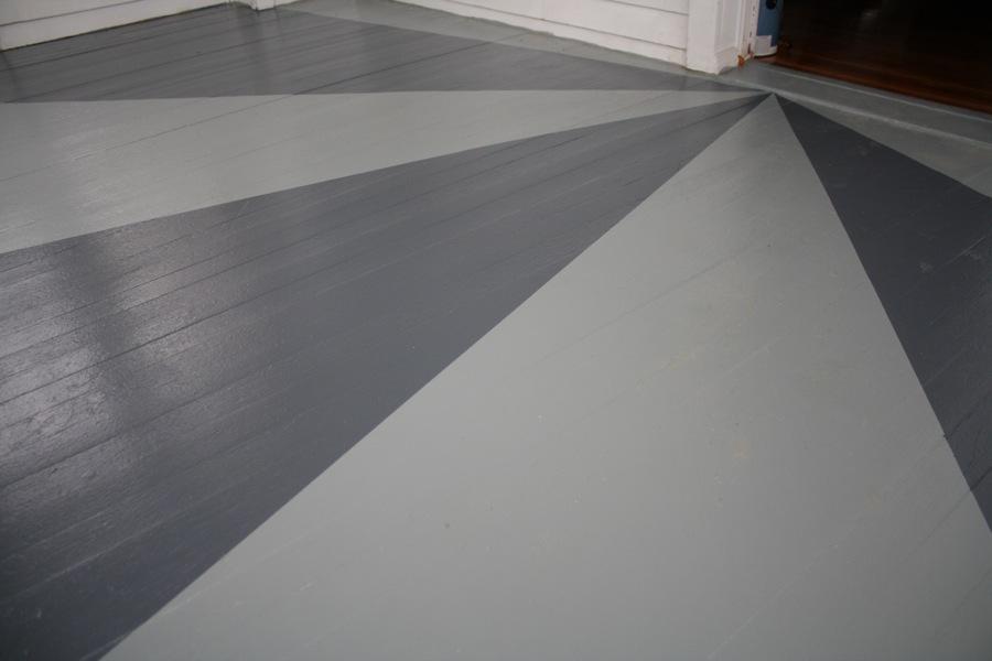 Sunburst floor painting merrypad for Solarium flooring