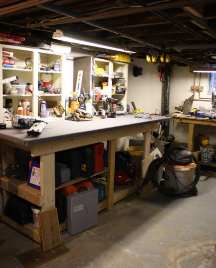 A+, Pete. I love a nicely organized basement.