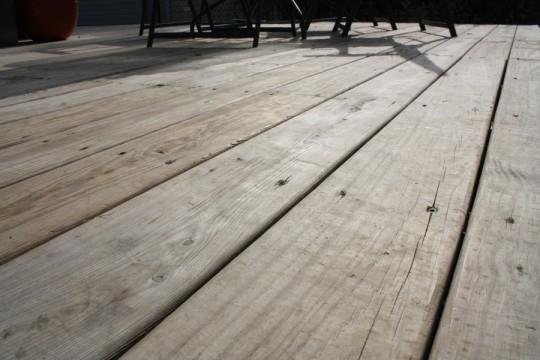Deck. Pre-waterproofing.
