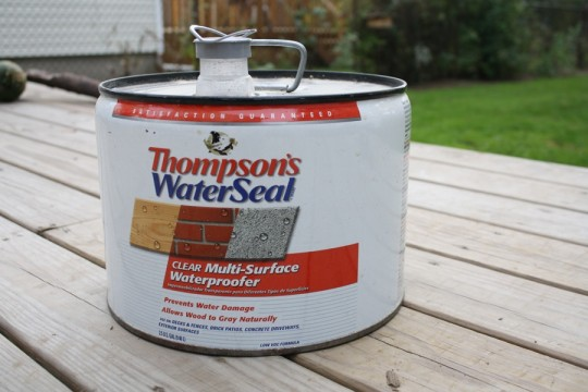 Thompson's Waterseal Rocks.