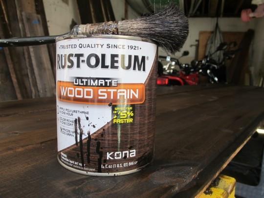 Rust-Oleum ULTIMATE. In Kona.