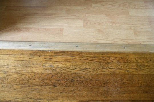 Real hardwoods compared to laminate hardwoods.