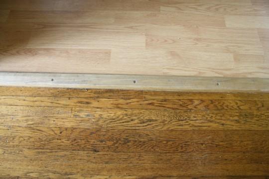 Real hardwoods compared to laminate hardwoods.