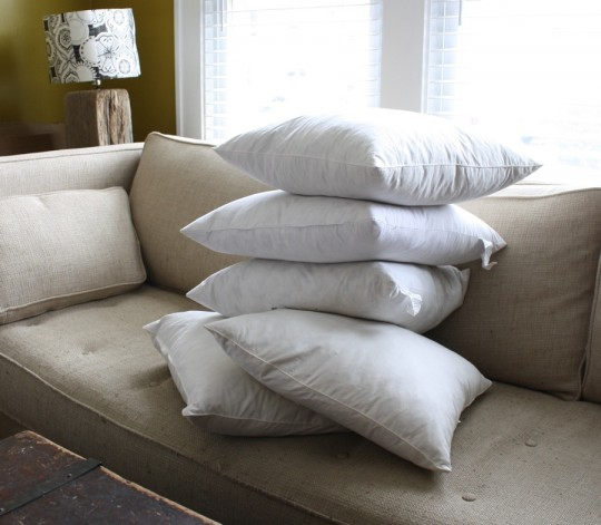 Naked pillows!