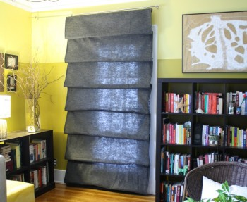 DIY Network Roman Shade project