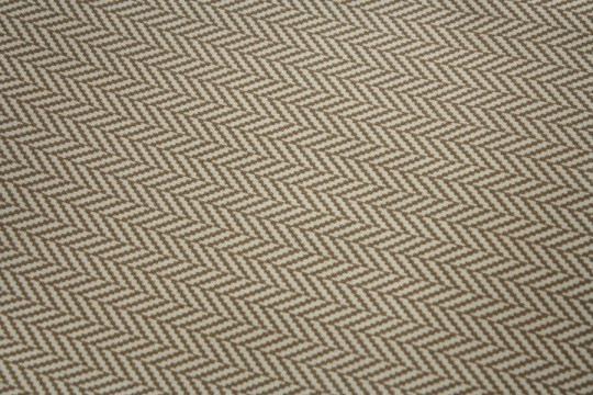 Outdoor fabric (in a design that's more likely to hide dog footprints).