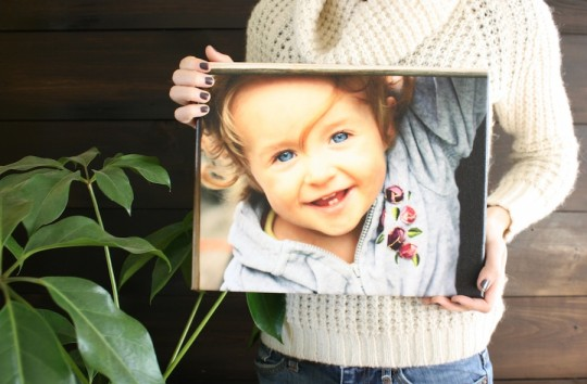 Lovely canvas print. Lovely photograph.