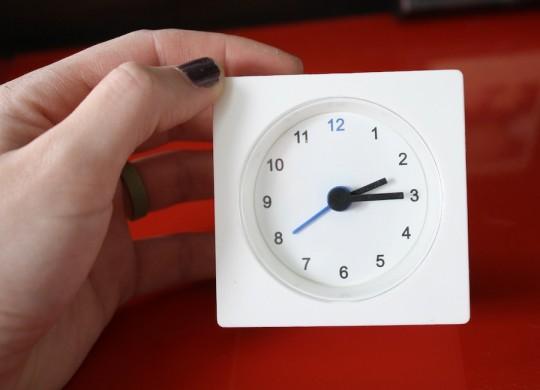 Mod clock, $1.