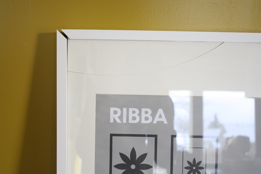 Fix A Broken IKEA RIBBA picture frame