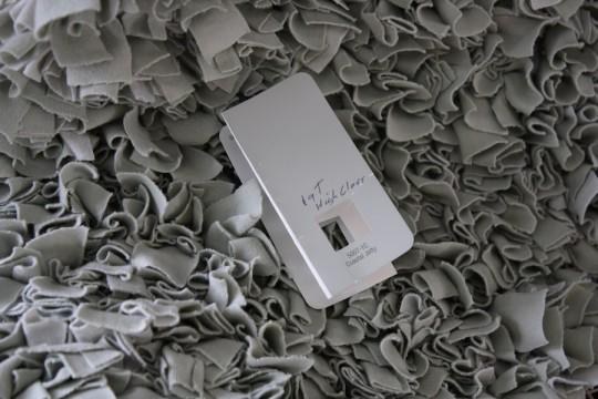 Valspar Coastal Jetty matches shades of gray in the rug.