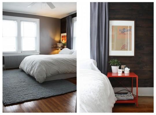 Master Bedroom, January 2012.