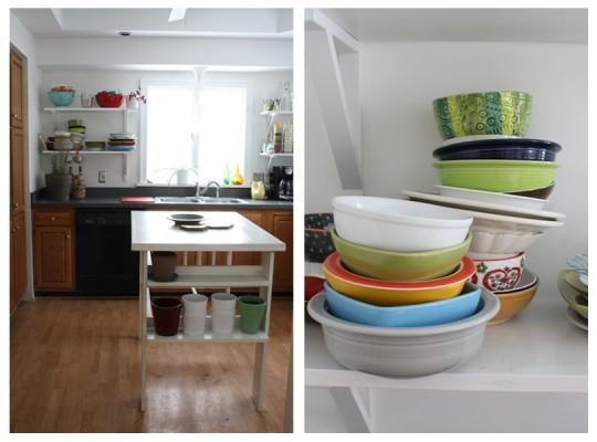 Kitchen, January 2012.