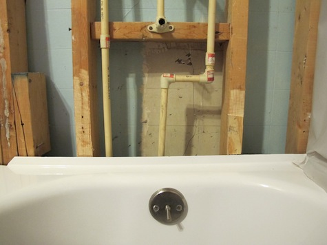 Problem with existing CPVC and copper plumbing.
