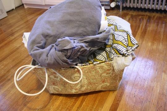Fabric chaos.