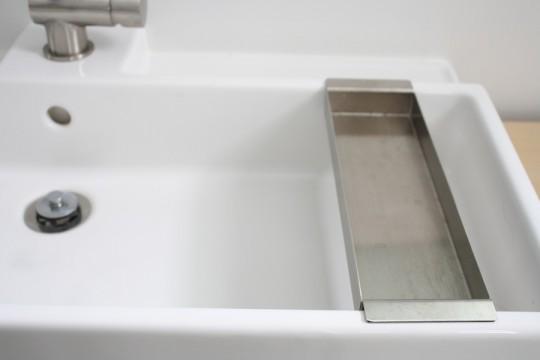 Bathroom vanity, installed (hip hip hurray)!