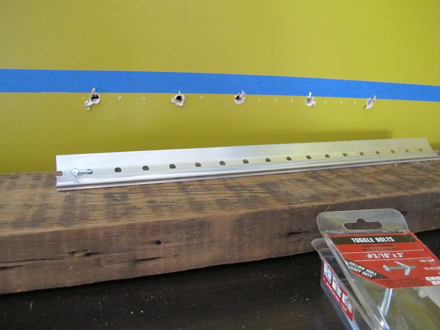 Diy French Cleat Floating Shelves Merrypad