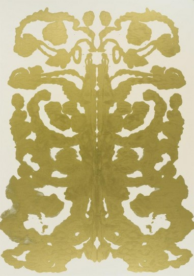Andy Warhol's Rorschach.